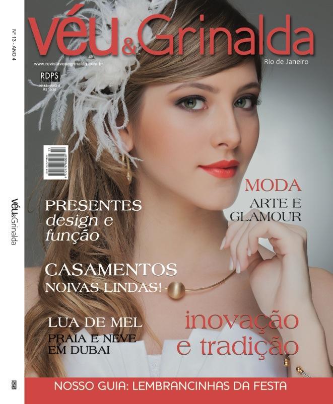 Saiu na mídia: Capa de Revista