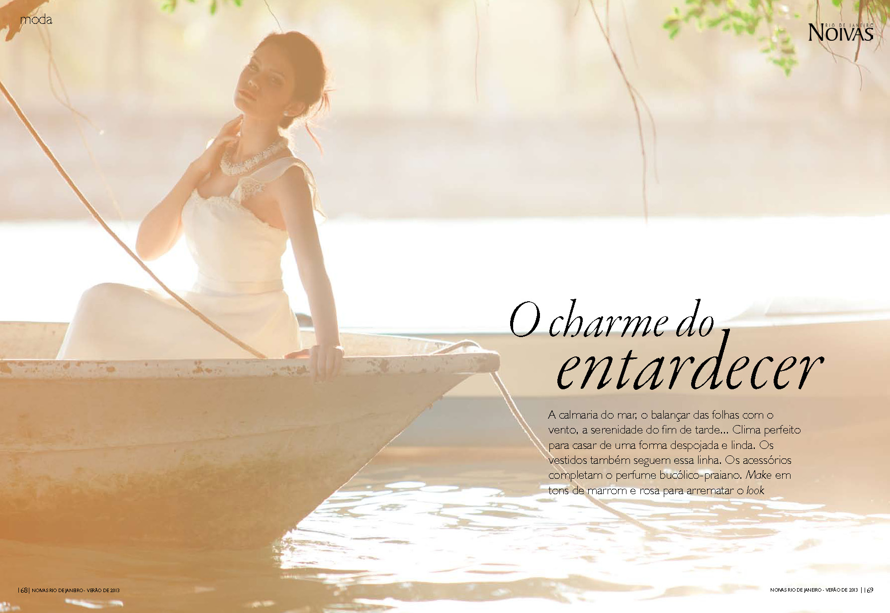 Saiu na mídia: editorial para revista Noivas RJ – Carla Barraqui