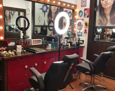 Seis motivos para se maquiar no salão